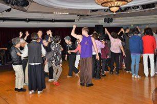 ダンス教室は、大盛況でした。
