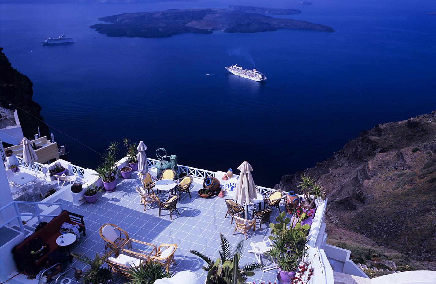 サントリーニ(ギリシャ)