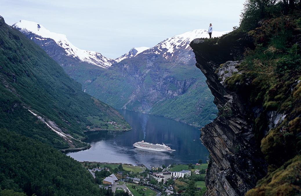 ガイランゲルフィヨルド(ノルウェー)