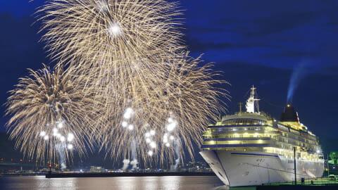 南九州屈指の規模を誇る 油津港まつり花火大会<br>■油津(日南)