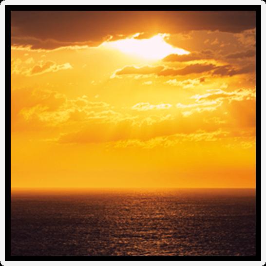 2022年 オセアニアグランドクルーズ On Board 船上の夕陽