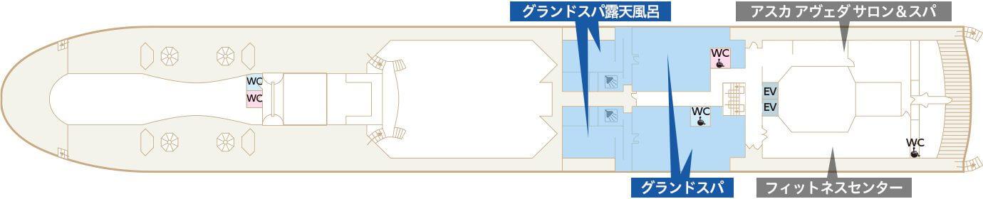 Deck12 スカイデッキ グランドスパ・露天風呂