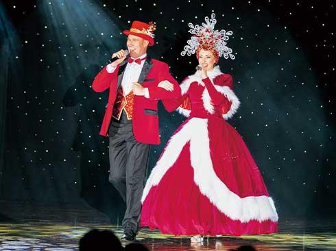 クリスマス 洋上で楽しむショー
