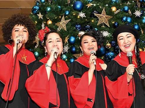 クリスマスムードを盛り上げるゴスペルコーラス<br>COCORO*CO コンサート