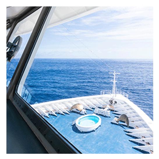 2022年 オセアニアグランドクルーズ 操舵室船首