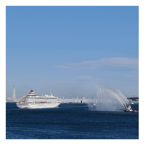 2022年 オセアニアグランドクルーズ 華やかな出港は 船旅の醍醐味