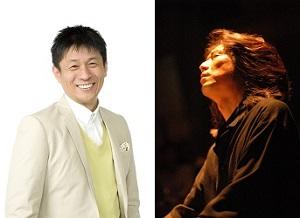 唯一無二の語りとダイナミックなピアノ<br>山田雅人(タレント)&鈴木和郎(ピアノ)