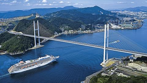 【日本周遊Aコース】神戸発着 新緑の九州めぐりクルーズ
