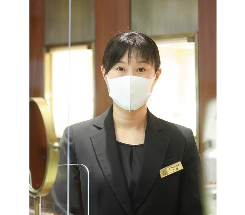 アシスタントショップマネージャー 土屋 奈津美
