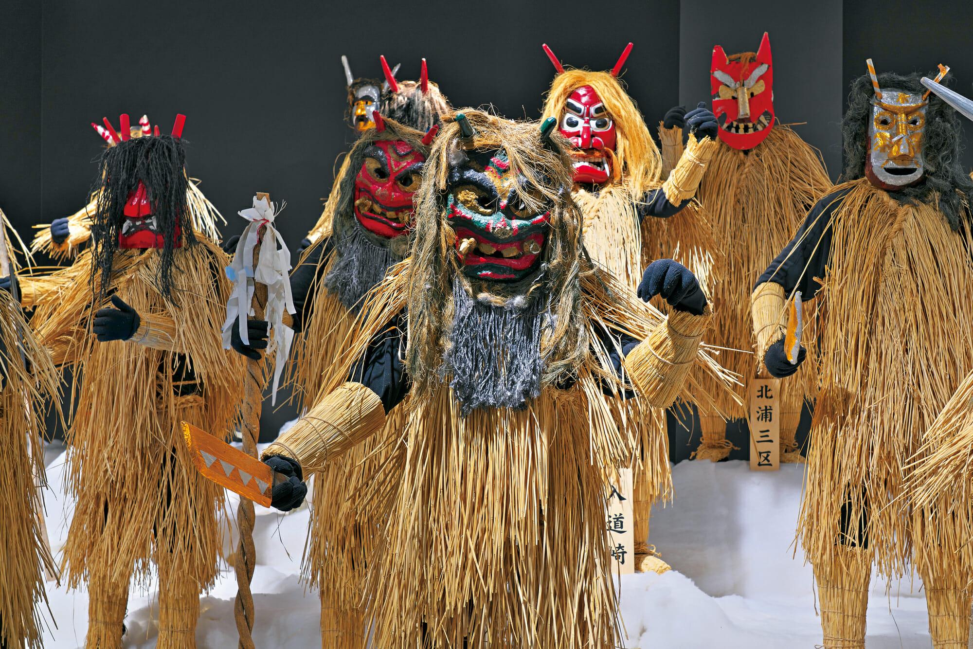 なまはげに出会う旅へ<br>■船川(男鹿)・秋田