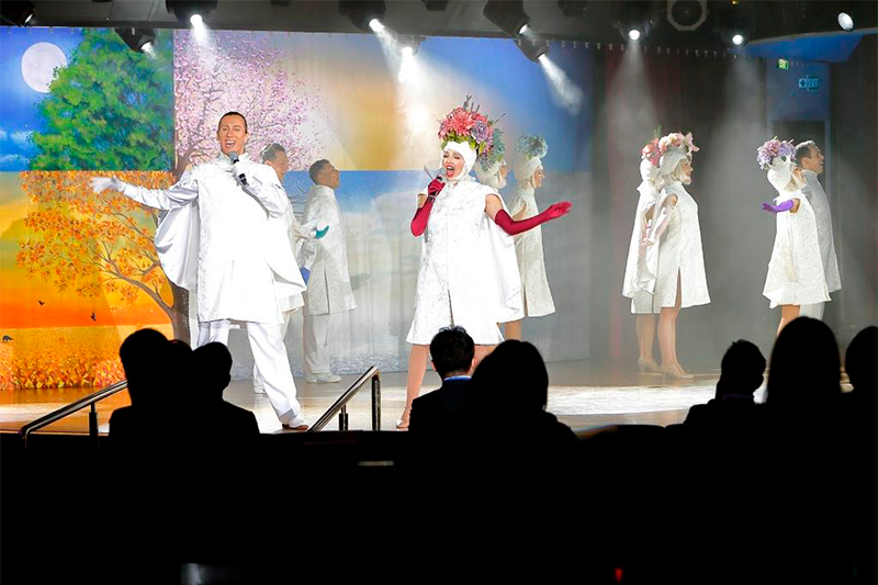 ショーの写真