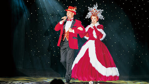 まばゆく、ドラマティックに魅せる<br>クリスマスショー